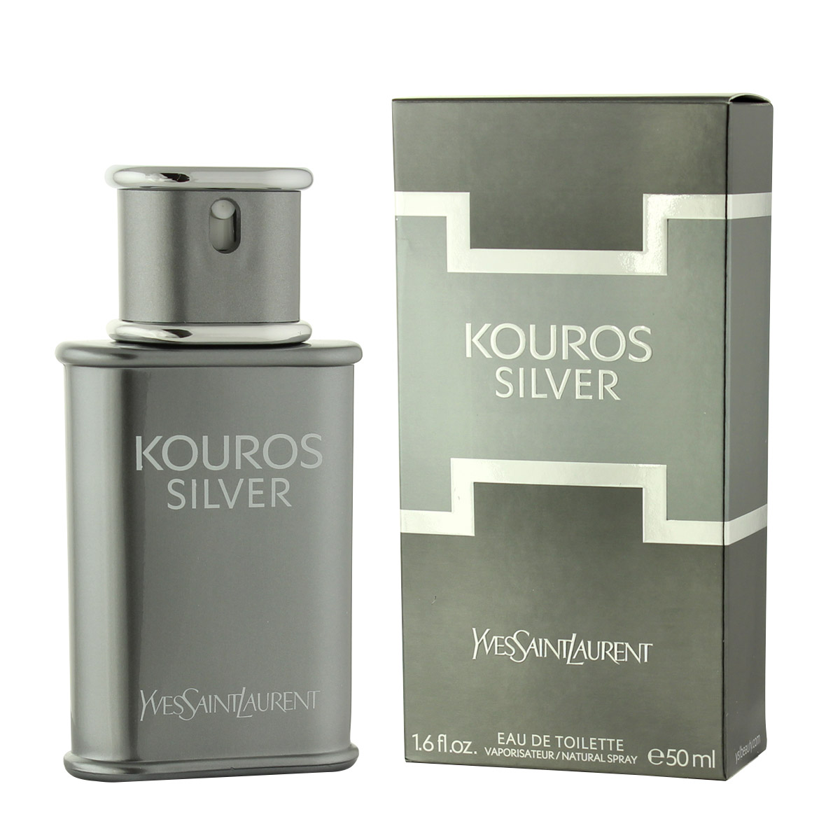 Yves Saint Laurent Kouros Silver Eau De Toilette 50 ml