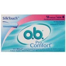 O.B. ProComfort Tampony mini 16 ks