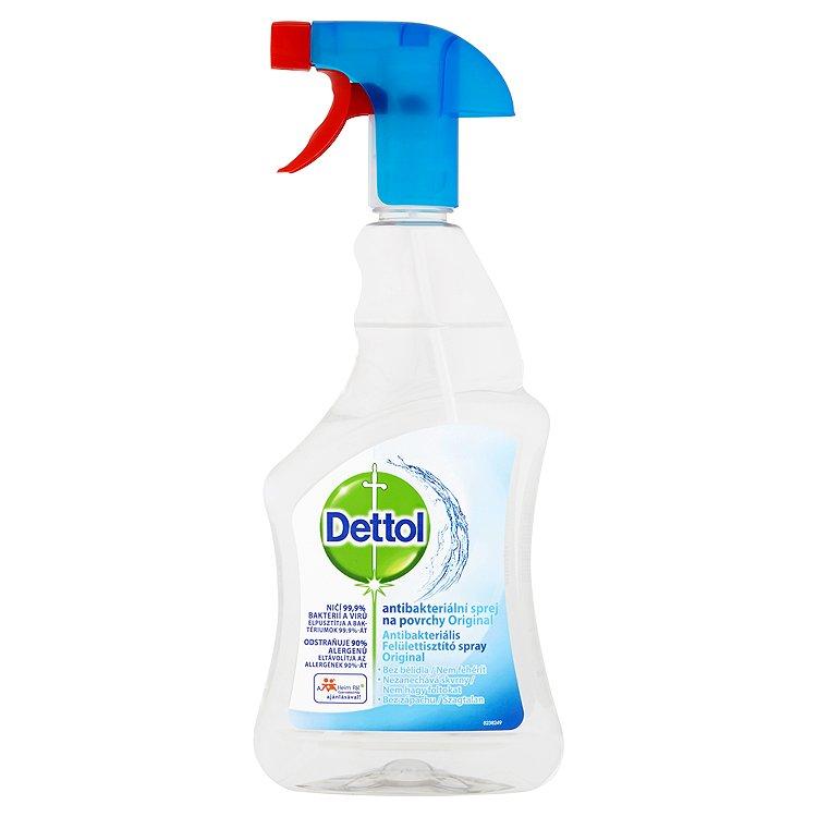 Fotografie Dettol Antibakteriální sprej na povrchy 500 ml