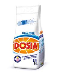 Dosia Bílá prací prášek, 90 praní 9 kg