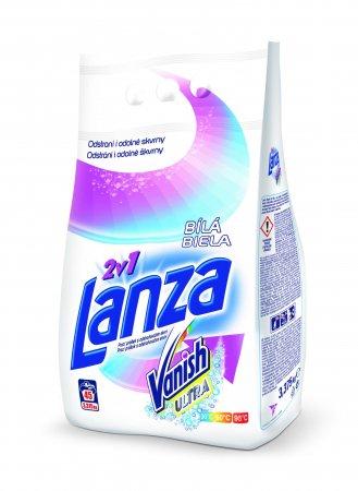 LANZA Vanish Ultra 2v1 Bílá, 45 praní 3,37 kg