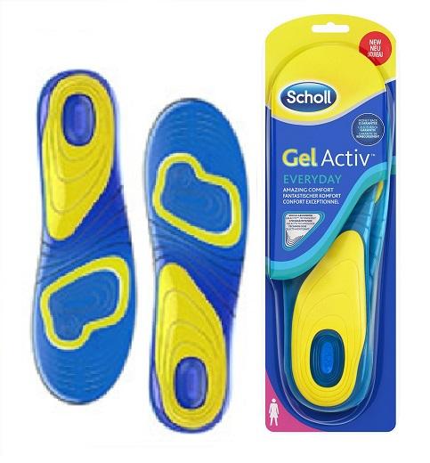 Scholl GelActiv Everyday dámské vložky do bot pro všední den