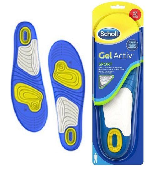 Scholl GelActiv Sport Vložky do bot na sport
