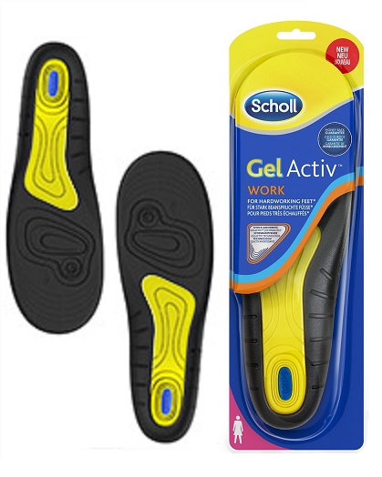 Scholl GelActiv Work gelové vložky do bot pro ženy 1 pár