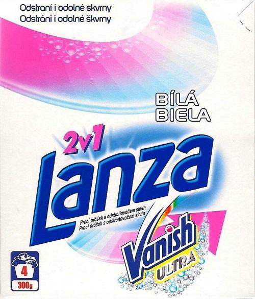 LANZA prací prášek Ultra white 300 g