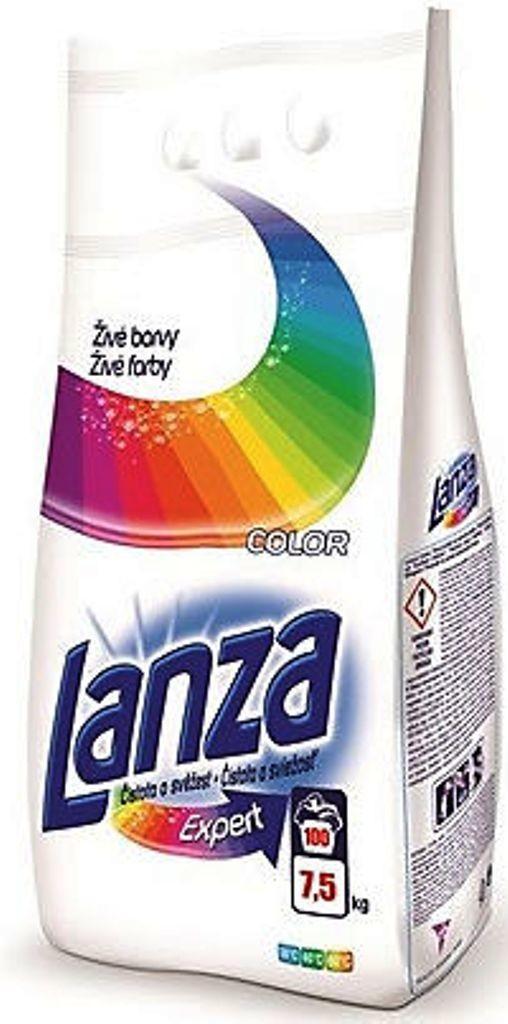 Lanza Expert Color prací prášek, 100 praní 7,5 kg