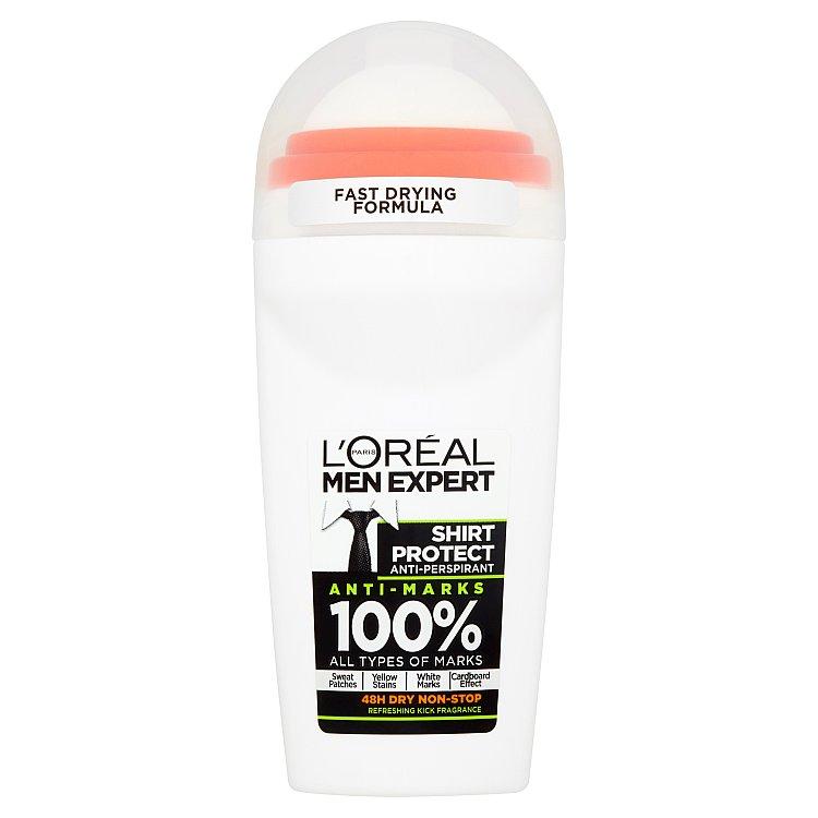 L'Oreal Paris Men Expert Shirt Protect kuličkový antiperspirant 50 ml
