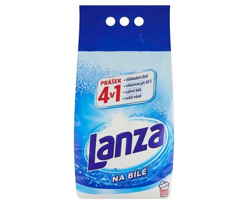 E-shop Lanza 4 v 1 prací prášek na bílé prádlo, 100 praní 7,5 kg
