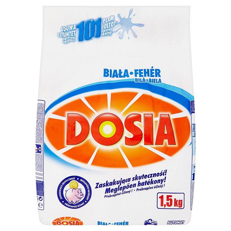 Dosia Bílá prací prášek, 15 praní 1,5 kg