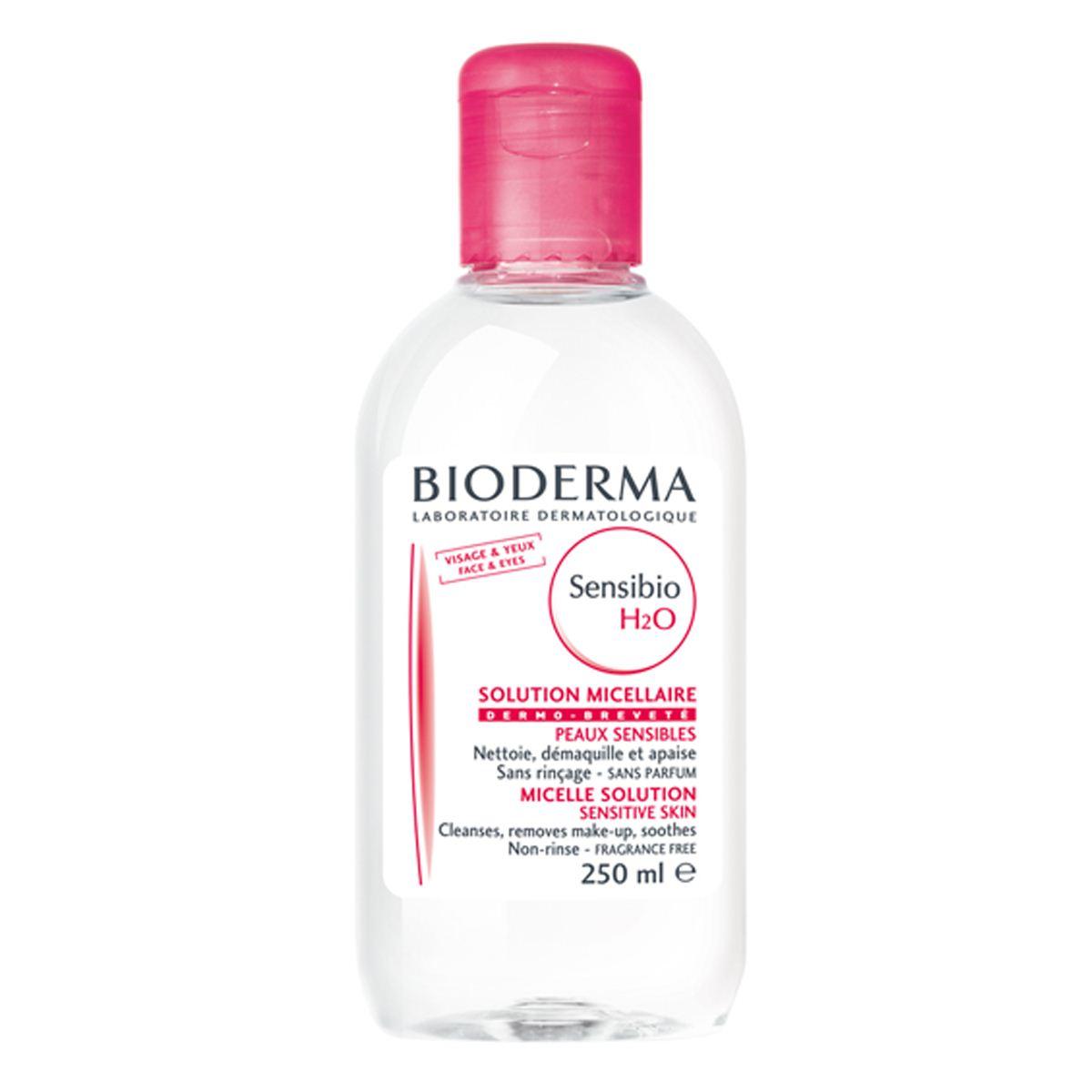 Bioderma Sensibio H2O micelární voda 250 ml