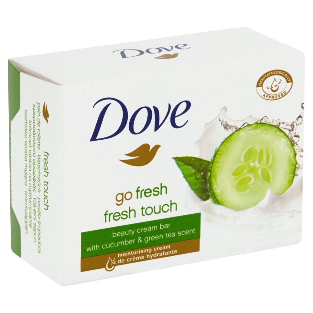 Dove krémové tuhé mýdlo okurka a zelený čaj 100 g