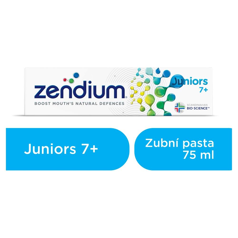 Zendium Juniors 7+ zubní pasta pro děti od 7 let věku 75 ml