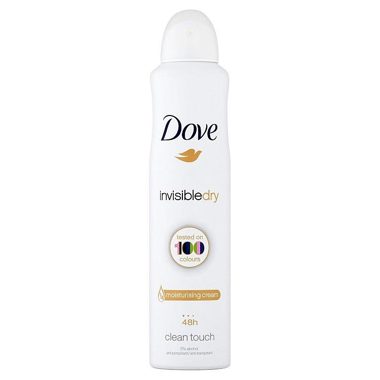 Dove Invisible Dry antiperspirant deodorant sprej 250 ml