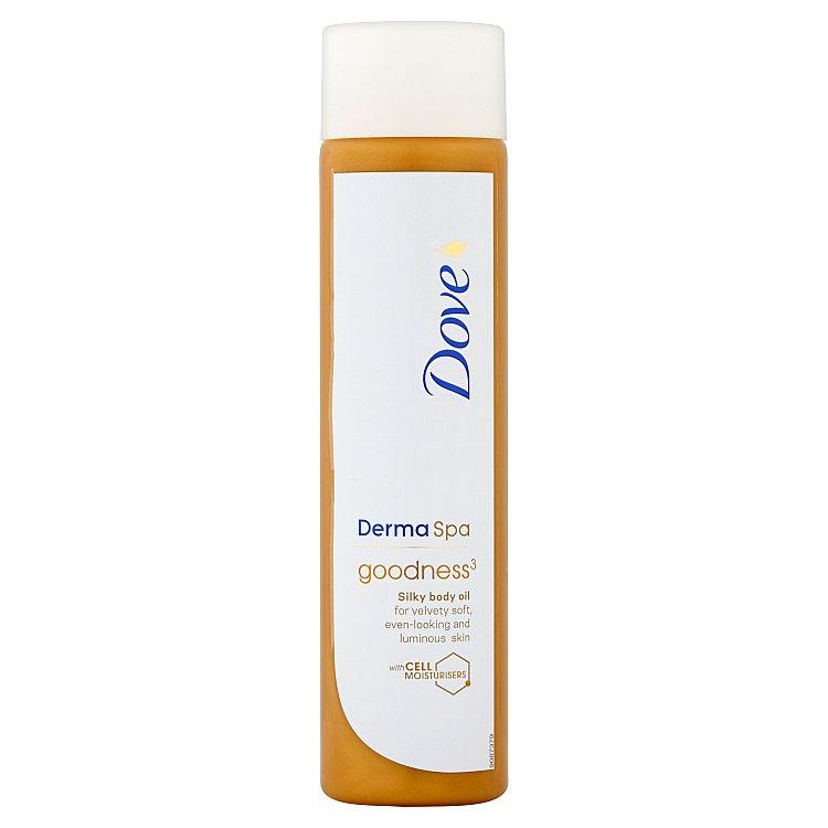 Dove Derma Spa Goodness hedvábný tělový olej 150 ml