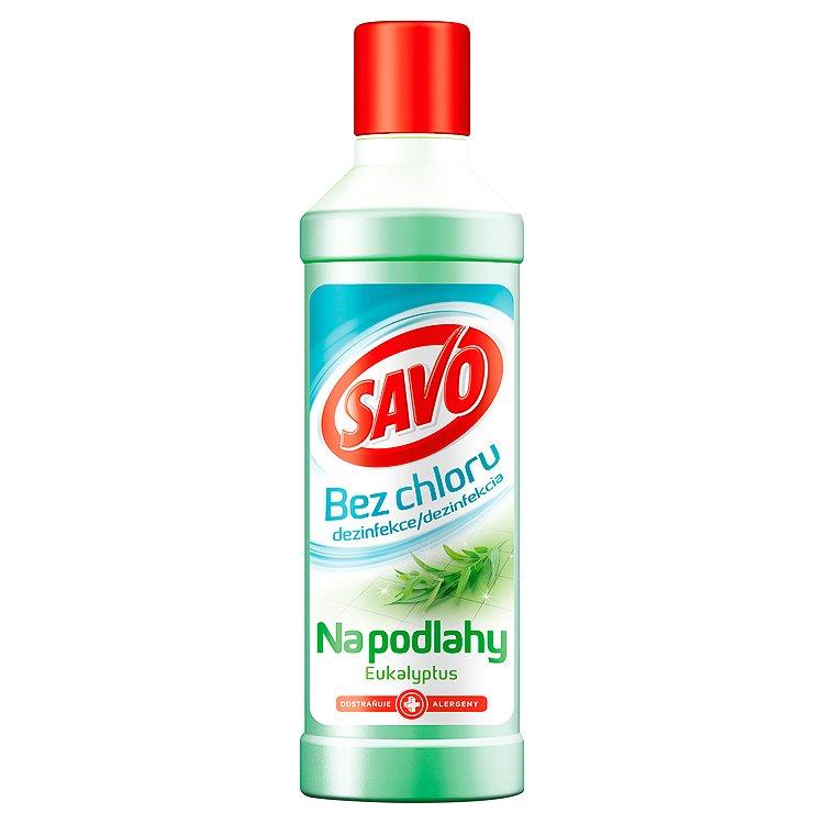 Savo Dezinfekce na podlahy, eukalyptus 1000 ml