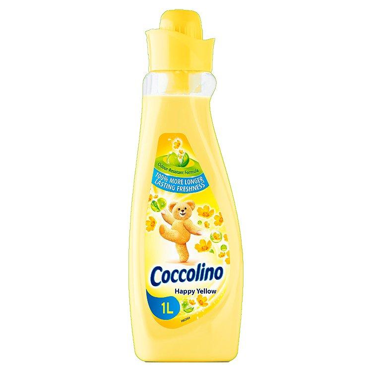Fotografie Coccolino Happy Yellow koncentrovaná aviváž 28 dávek 1 l