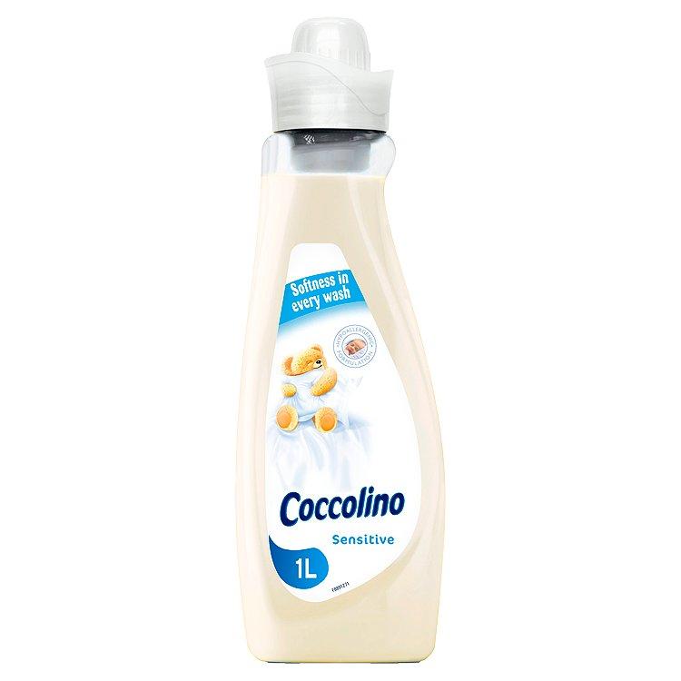 Fotografie Coccolino Sensitive hypoalergenní koncentrovaná aviváž 28 dávek 1 l