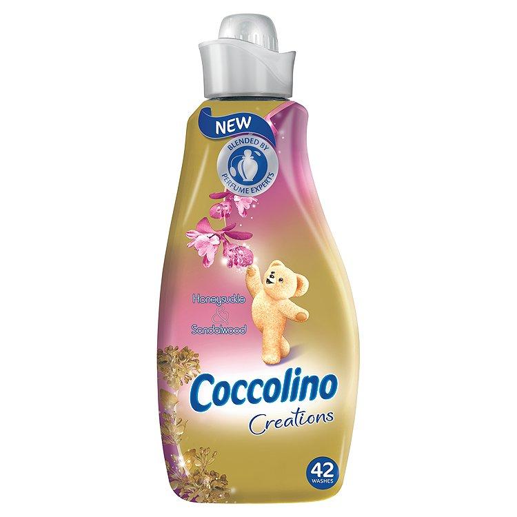 Coccolino Honeysuckle & Sandalwood aviváž, 42 praní 1,5 l