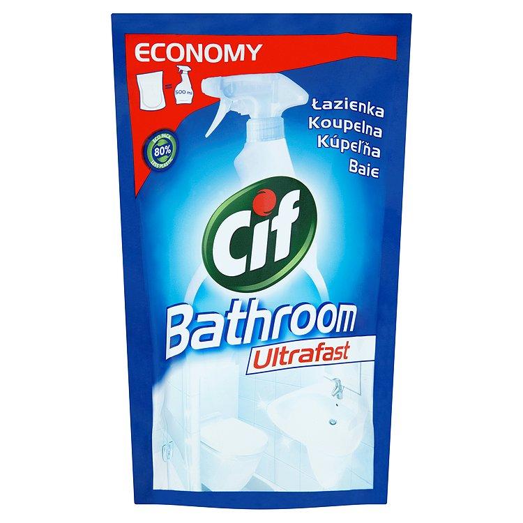 Cif Ultrafast koupelna čisticí přípravek náhradní náplň 500 ml