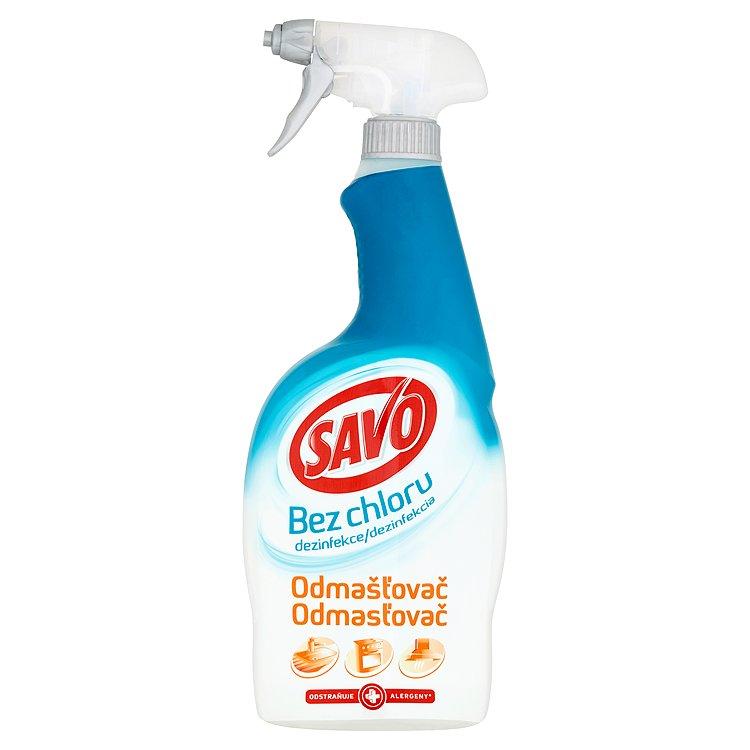 Fotografie Savo Odmašťovač, dezinfekční sprej bez chloru 700 ml