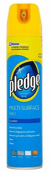 Pledge 5v1 multifunkční leštěnka, Classic 250 ml
