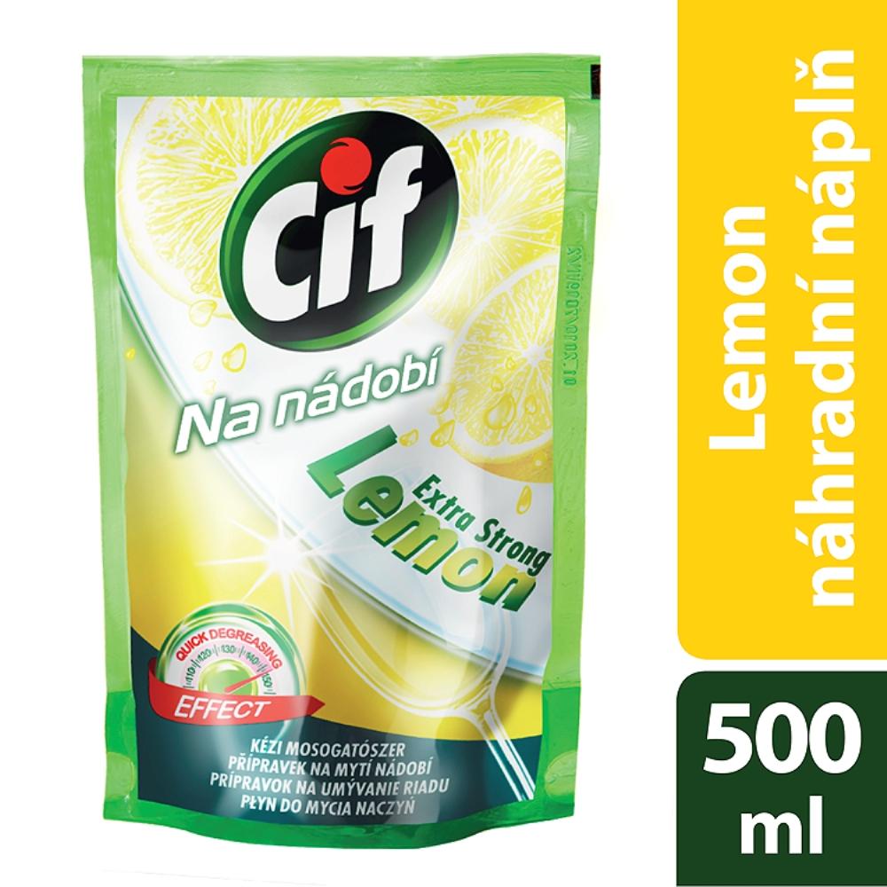 Cif Lemon náhradní náplně na nádobí 500 ml