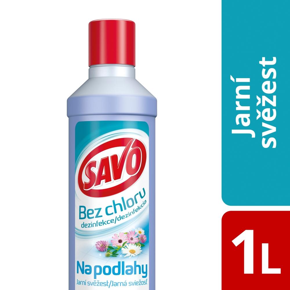 Savo Dezinfekce na podlahy, jarní svěžest 1000 ml