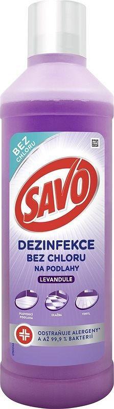Savo Dezinfekce na podlahy s vůní levandule 1000 ml