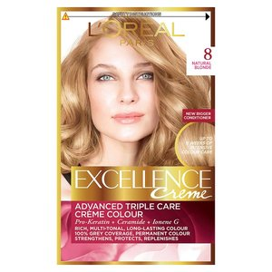 L'Oréal Paris Excellence Creme blond světlá 8