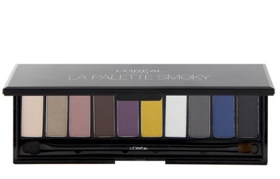 L'Oréal Paris Smoky paleta očních stínů Smoky 01