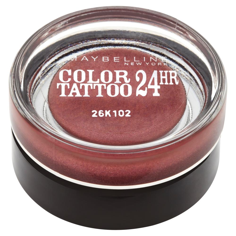 Maybelline Color Tattoo 24 hr oční stíny Metallic Pomegranate 70, 4 g