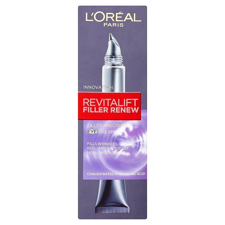 L'Oreal Paris Revitalift Filler Renew, oční krém proti vráskám 15 ml