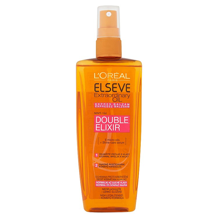 L'Oréal Paris Elseve Extraordinary Oil expres balzám 200 ml