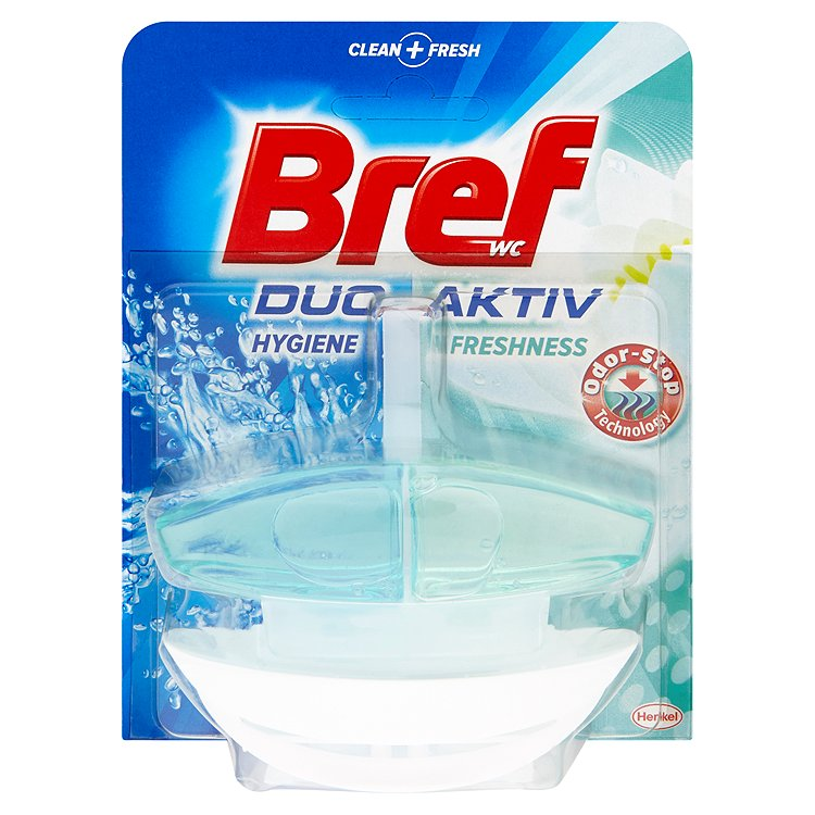 Fotografie Bref Duo-Aktiv WC blok, Odor-stop 50 ml