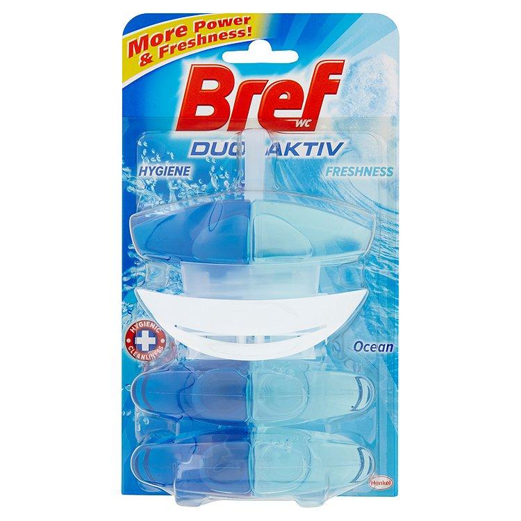Bref Duo-Aktiv WC blok, Ocean + 2x náhradní blok 3 x 50ml