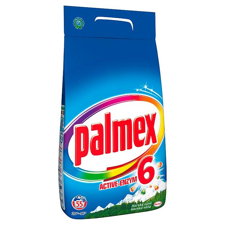 Palmex Horská vůně prací prášek, 55 praní 3,85 kg