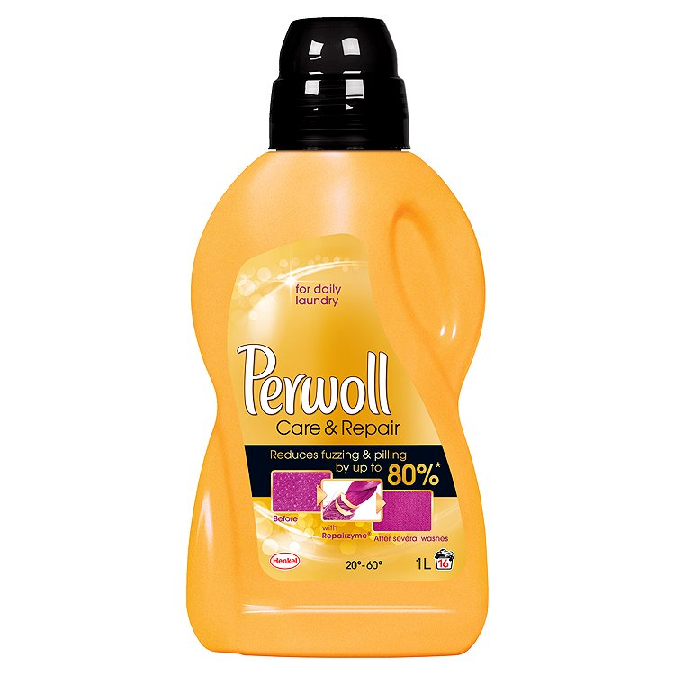 Perwoll Gold Care & Repair prací prostředek, 16 praní 1 l