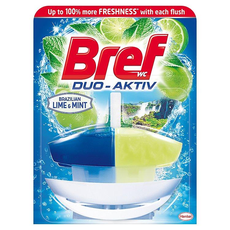 Bref Duo-Aktiv WC blok, Lime & Mint 50 ml