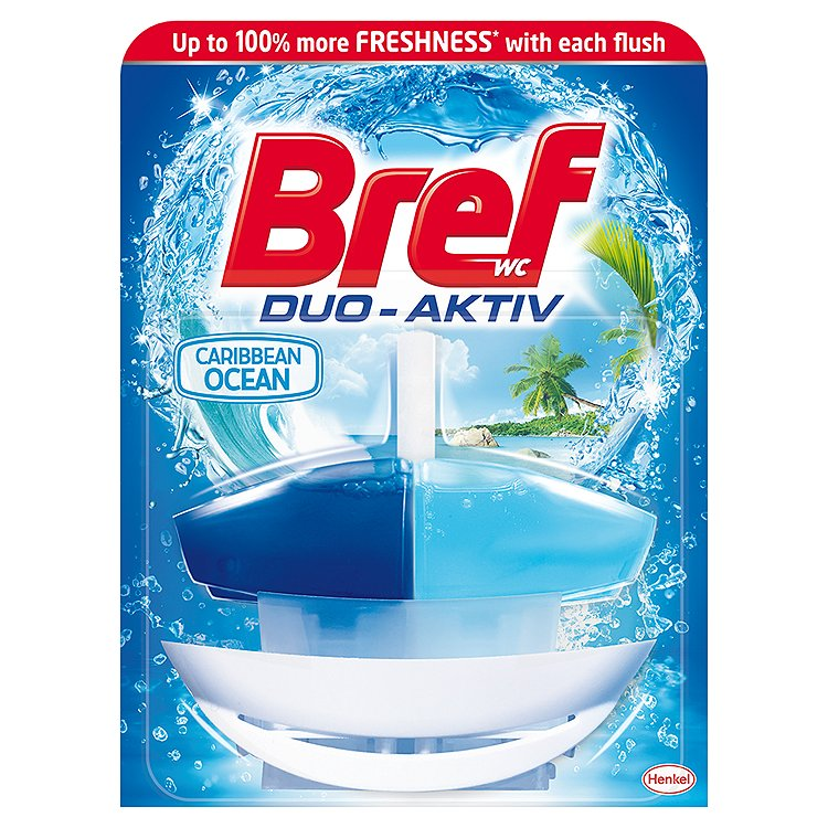 Bref Duo-Aktiv WC blok, Ocean 50 ml