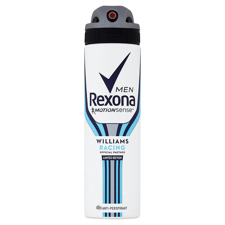 Rexona Men deosprej Williams Racing 150 ml