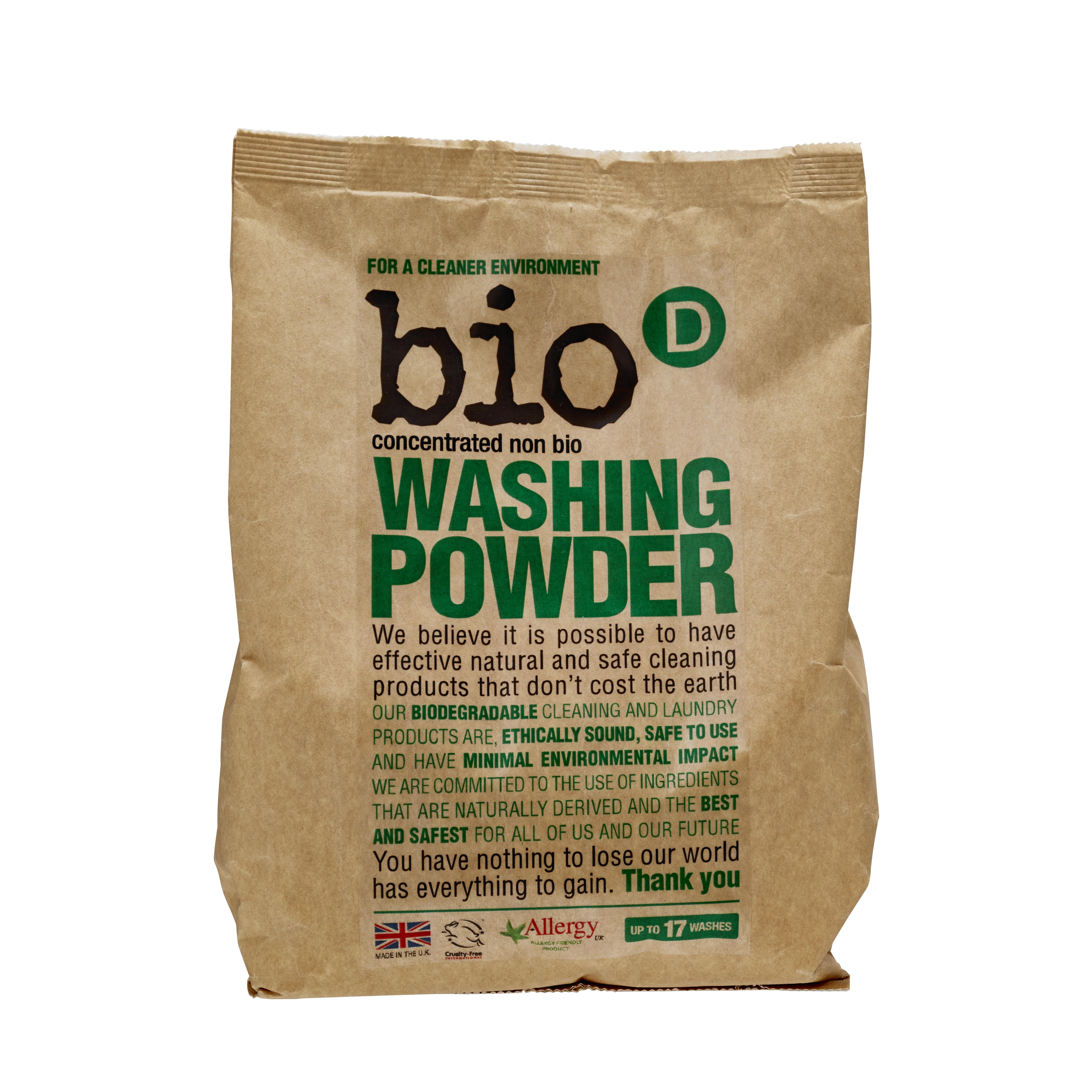 Fotografie Bio-D prací prášek, 17 praní 1 kg