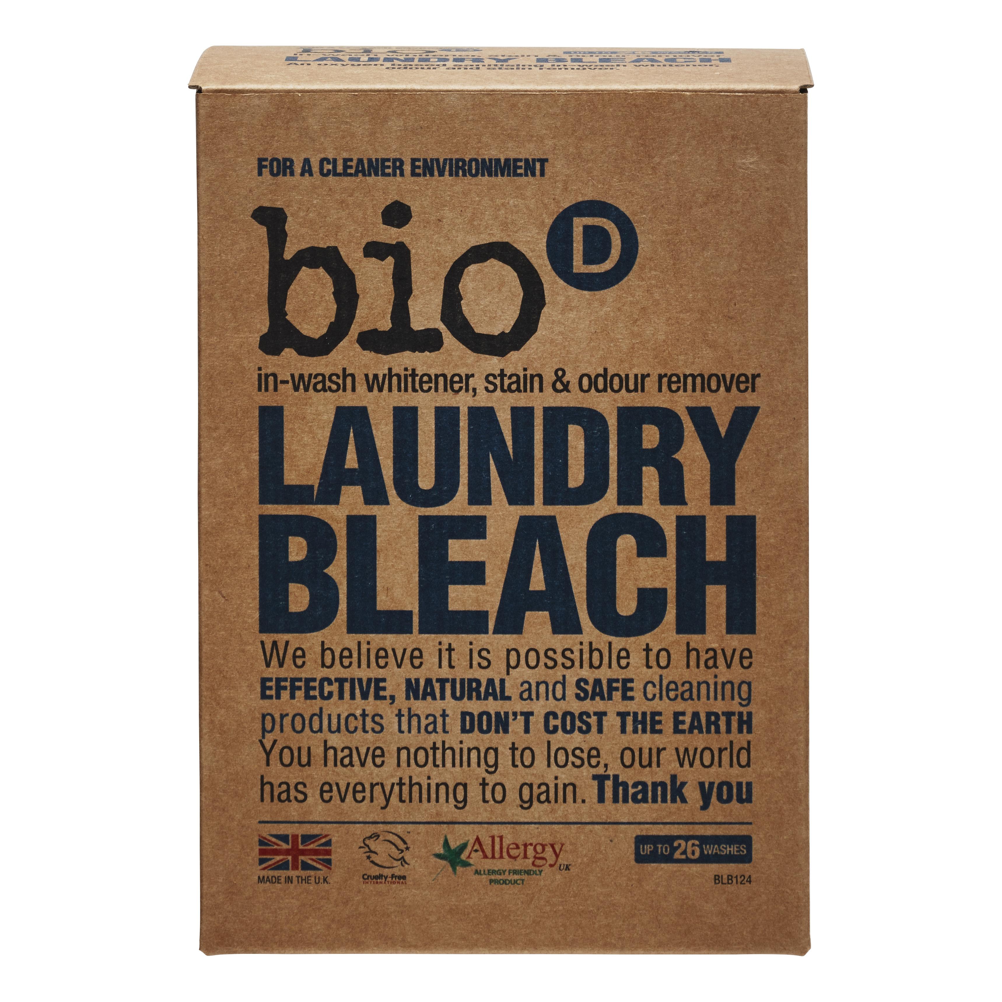 Bio-D bělicí prostředek a odstraňovač skvrn na prádlo 400 g