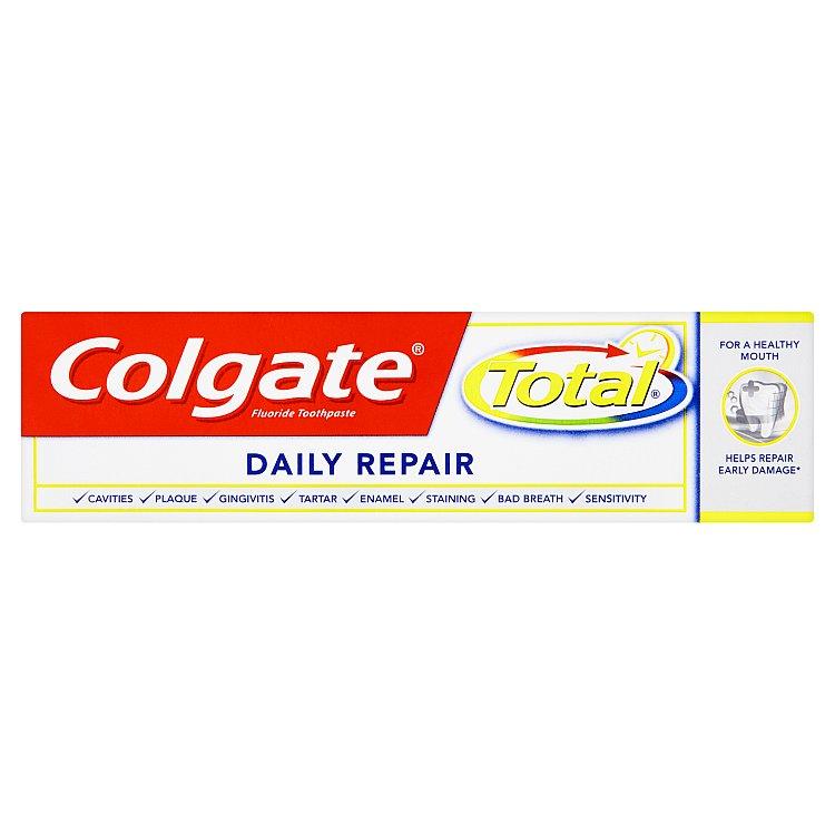 Fotografie Colgate Total Daily Repair zubní pasta 75 ml
