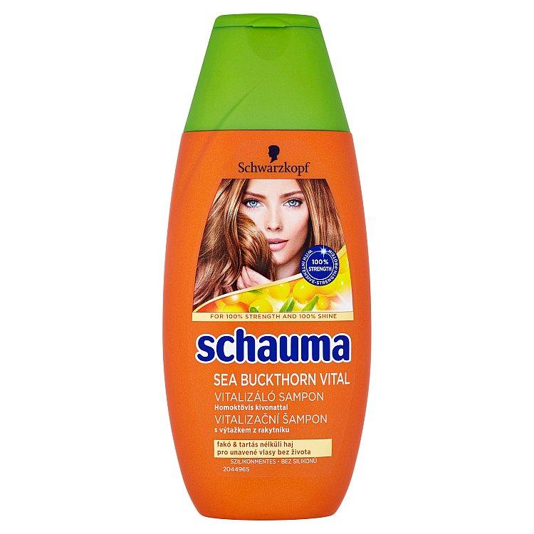 Schauma Vitalizační šampon s výtažkem z rakytníku pro unavené vlasy bez života 250 ml