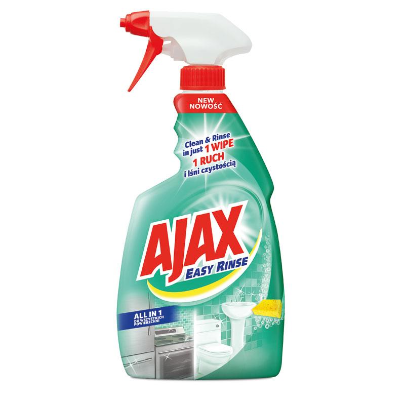 Ajax All in 1 Easy Rinse čisticí prostředek na kuchyně a koupelny 500 ml