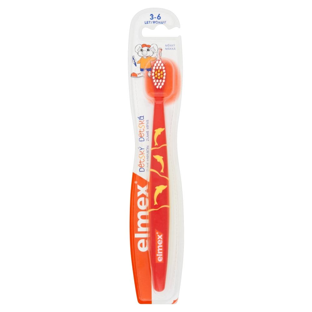 Elmex zubní kartáček pro děti 3-6 let