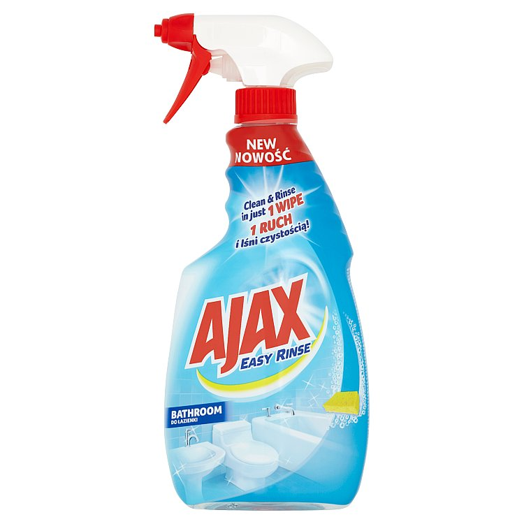 Ajax Easy Rinse, čisticí sprej do koupelen 500ml