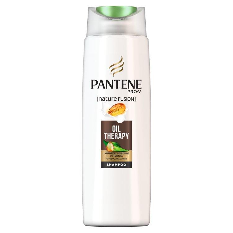 Pantene Pro-V Nature Fusion Oil Therapy Šampon Na Oslabené Nebo Poškozené Vlasy 250 ml