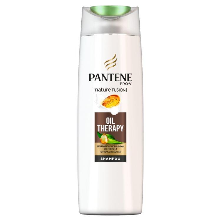 Pantene Pro-V Nature Fusion Oil Therapy Šampon Na Oslabené Nebo Poškozené Vlasy 400 ml