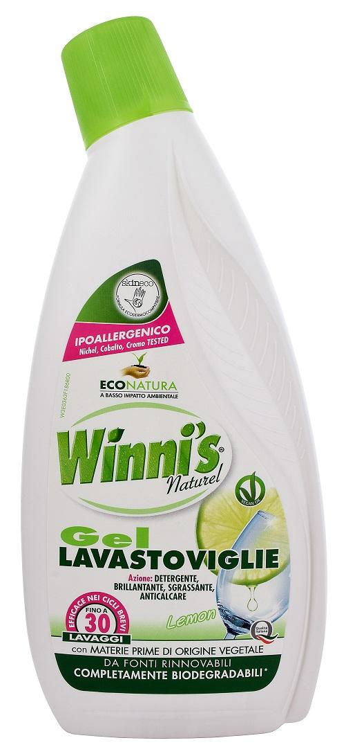 Winni's Lavastoviglie biodegradabilní gel do myčky 750 ml